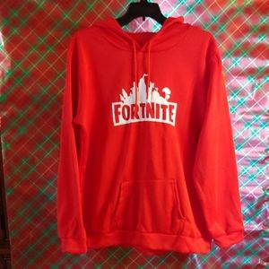 Lite weight Fortnite hoodie red size 4x